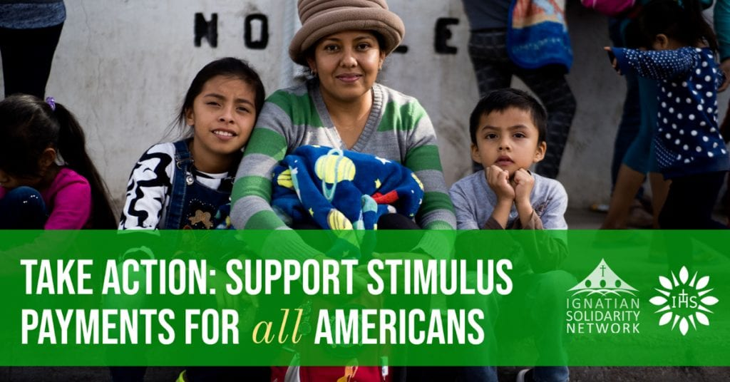 Take action: support stimulus payments for all American families.