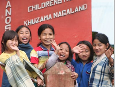Kohima School Children