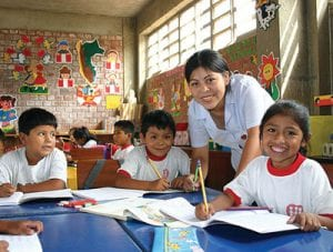 Fe Y Alegria Classroom in Peru